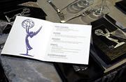 Table menu for the 61st Annual Emmys